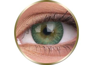 Phantasee Natural - Green (2 čočky tříměsíční) - nedioptrické