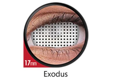 ColourVue Crazy čočky 17 mm - Exodus (2 ks roční) nedioptrické