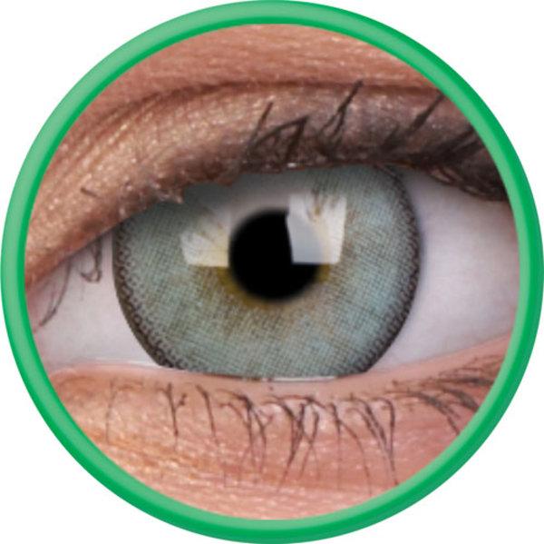 ColourVue Lumina - Gleaming Green (2 čočky tříměsíční s pouzdrem) - dioptrické