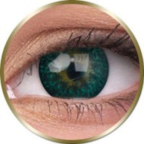 Phantasee Diva - Green (2 čočky tříměsíční) - nedioptrické - doprodej exp.2020