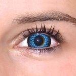 ColourVue Eyelush - Blue (2 čočky tříměsíční) - nedioptrické