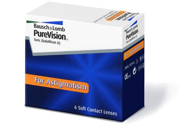 PureVision Toric (6 čoček) - výprodej 2020