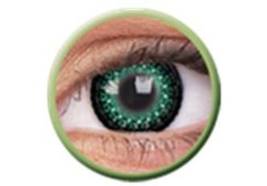 ColourVue Eyelush - Green (2 čočky tříměsíční) - dioptrické - exp. rok 2017